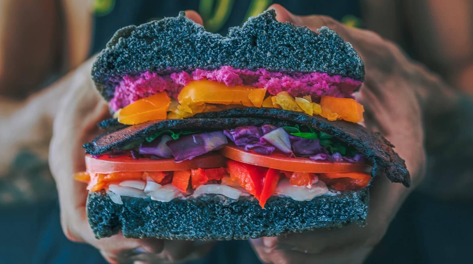 vegaani hampurilainen